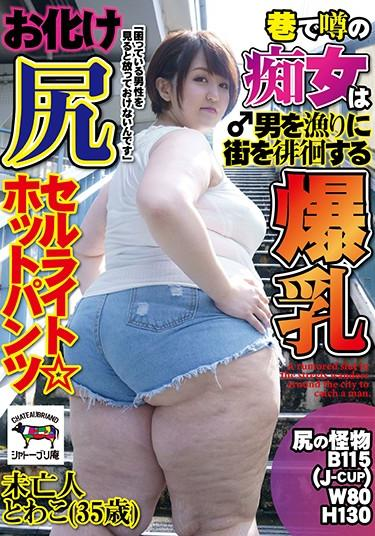 [NINE-041] –  A Rumored Slut In The Street Wanders Around The City To Catch A Man. Big Breasts Ghost Ass Cellulite ☆ Hot Pants Widow Towako (35 Years Old)Amateur Big Tits Slut BBW Huge Butt